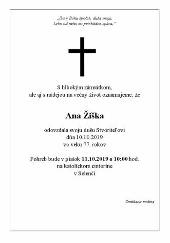 Ana Žiška