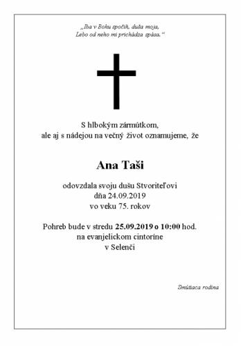 Ana Taši