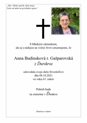 Anna Budimski
