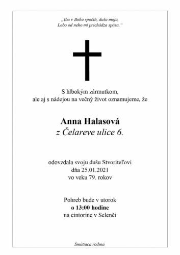 Anna Halasova