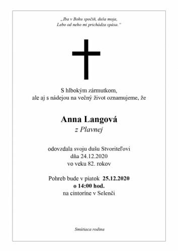 Anna Langova
