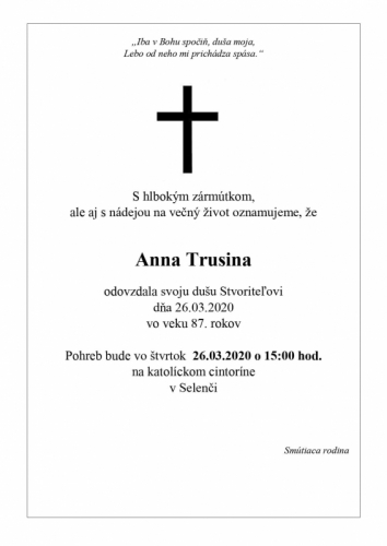 Anna Trusina