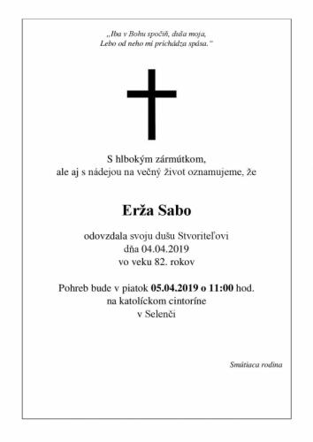 Erža Sabo