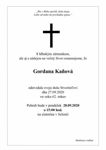 Gordana Kanova