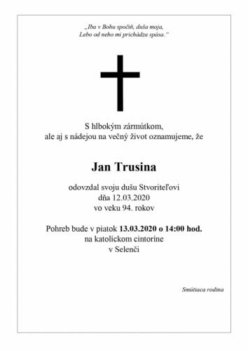 Jan Trusina