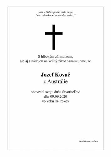 Jozef Kovač