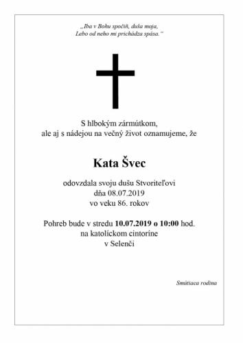 Kata Švec