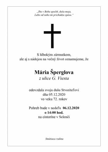 Maria Špergel