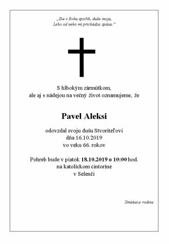 Pavel Aleksi