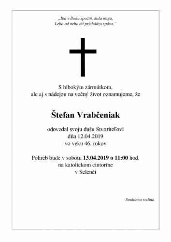 Štefan Vrabčeniak