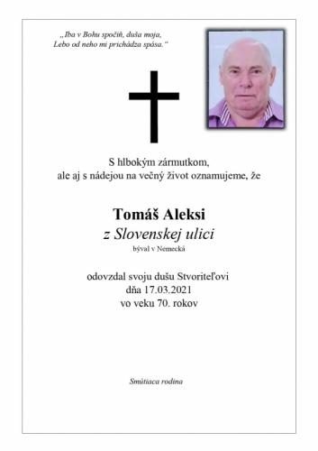 Tomaú Aleksi
