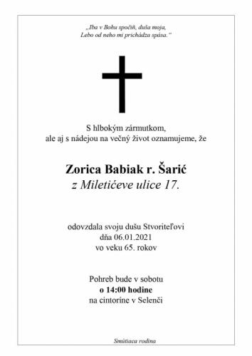 Zorica Šarić